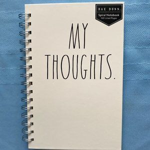 Rae Dunn My Thoughts Notebook